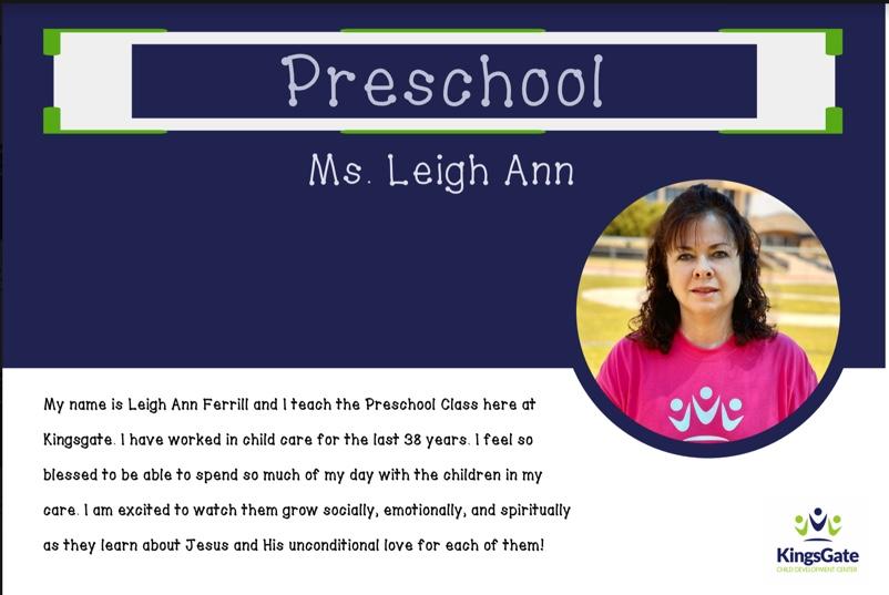 Ms. Leigh Ann