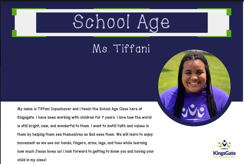 Ms. Tiffani
