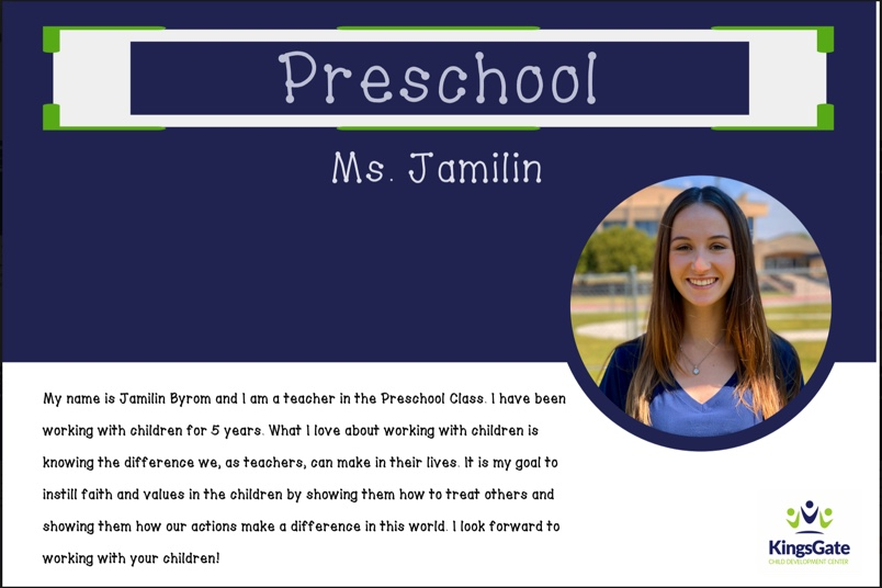 Ms. Jamilin